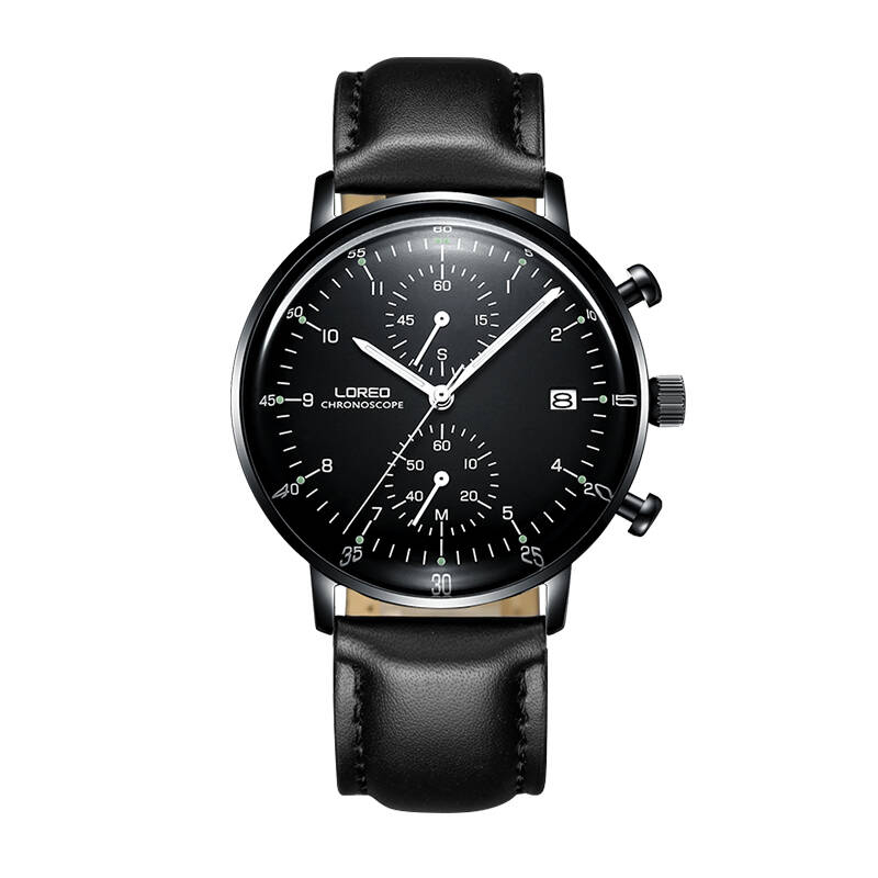 LOREO 6112 Germany Bauhaus watches classic high temperature resistant scratch resistant simple fashion sport watch loreo 6112 germany bauhaus watches newest 316l stainless steel chronograph fashion elegant quartz watch