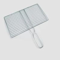 Fish grilling basket bbq mesh mat mesh rack outdoor camping accessories tools