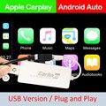 Carlinkit USB חכם קישור אפל CarPlay Dongle עבור אנדרואיד ניווט נגן מיני USB Carplay מקל עם אנדרואיד אוטומטי