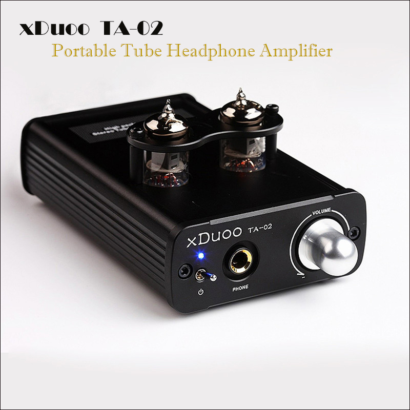 цена на xDuoo TA-02 dac headphone amplifier hifi portable stereo headphone tube amplifier audio mini amplifier headphone amp tube