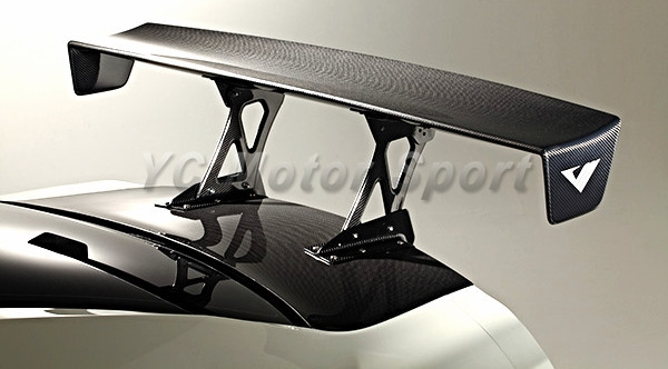 Car Accessories Carbon Fiber VS EURO Edition Style GT Wing Fit For 2008-2014 <font><b>R35</b></font> <font><b>GTR</b></font> CBA DBA <font><b>Rear</b></font> <font><b>Spoiler</b></font> image