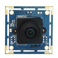 Camera 8mp High Resolution 3264x2448 Wide Angle 180 Degree Fisheye Lens Usb Webcam Windows Linux Small