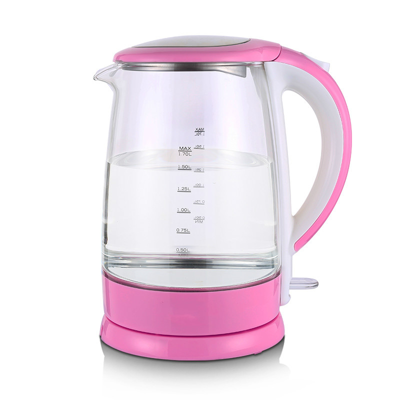 все цены на Electric kettle transparent with the automatic cut-off electric kettles
