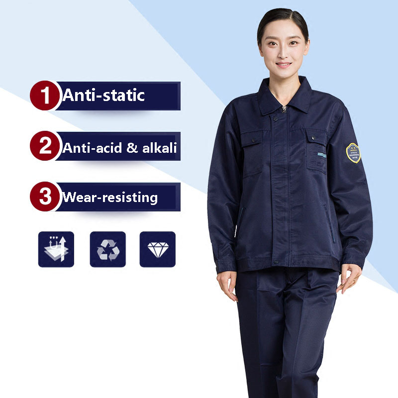 Men Women Safety Clothes Anti-static Clothing Work Protective Clothing Factory Anti-acid&alkali Workwear Unisex Wear-resisting 4 colors 2016 summer unisex popular breathable work clothing short sleeve workwear absorbent comfortable clothes for factory