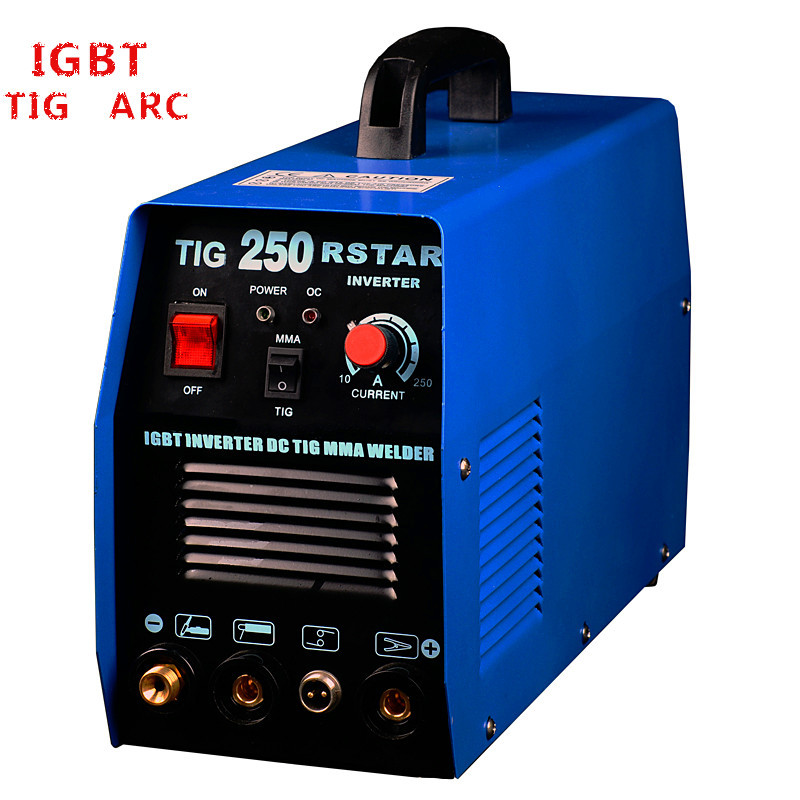 NEW IGBT DC INVERTER <font><b>TIG</b></font> MMA 250A WELDING MACHINE FREE SHIPPING image