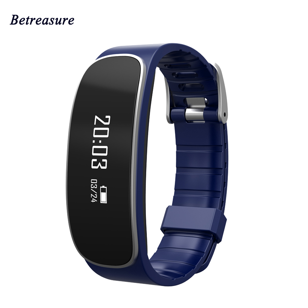 Betresure H29 Bluetooth4 0 Smart Bracelet Heart Rate Monitor Fitness Tracker Smart Wristband For IOS Android