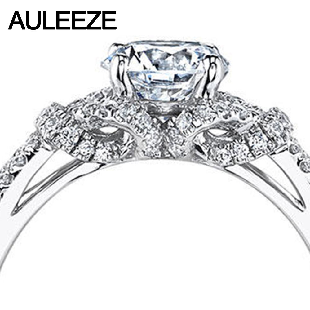 img plated zirconia copy cubic rings rhodium ring shank cz sterling silver split cut engagement heart