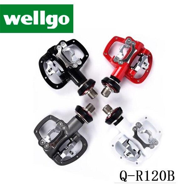 Wellgo pédales dispositif de dégagement rapide Original R120B Non QRD QRD2 vélo VTT pédale vtt cyclisme roulement pédales