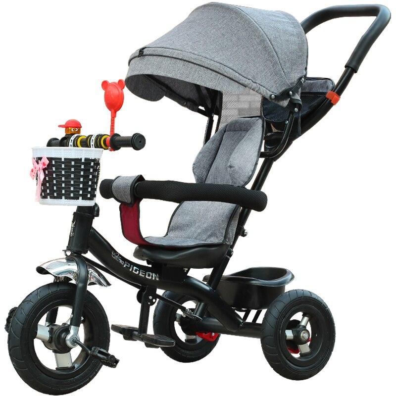 Voler plgeon enfant tricycle vélo 1 3 5-2 6 Grand sitair lumière chariot bébé vélo