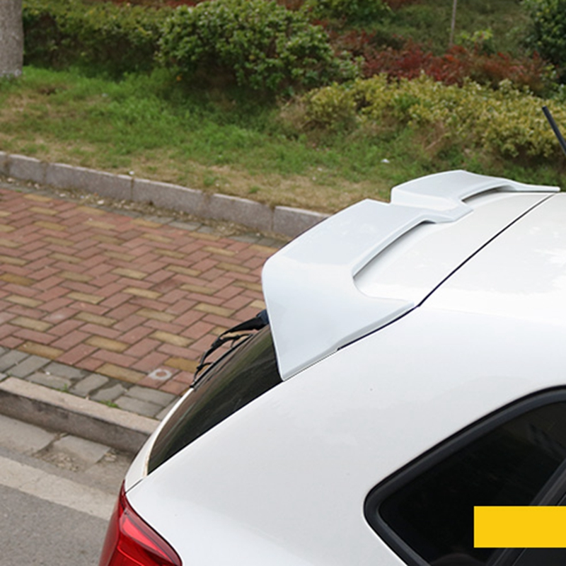 For VW Polo Oettinger Spoiler ABS Material Car Rear Wing Primer Color VW polo Rear Spoiler
