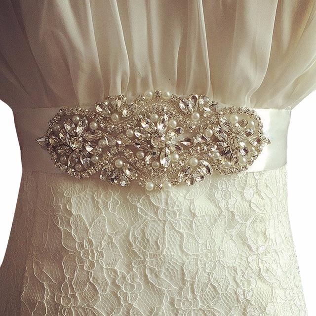 Women Wedding Belts Handmade Rhinestones Bridal Sash Evening Party Dress Belt Luxury Wedding Sashes Brand Waistband Cummerbunds 1