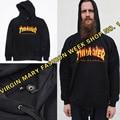 Homens Streetwear Thrasher Capuz Agasalho Moletom Skate Sudaderas Mens hoodies e moletom skate revista trasher jumper