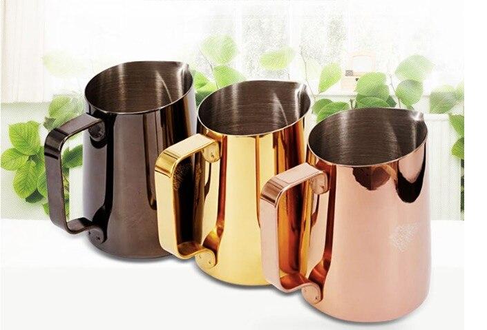 450cc Professional Europa Milk jug / Milk Foaming Jug/milk pitcher/milk jar Luxe coat lattte art pitcher milk