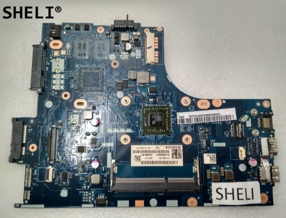 SHELI For LENOVO S415 Motherboard with A6-5200 CPU 11s90003846 90003846 LA-A331PSHELI For LENOVO S415 Motherboard with A6-5200 CPU 11s90003846 90003846 LA-A331P