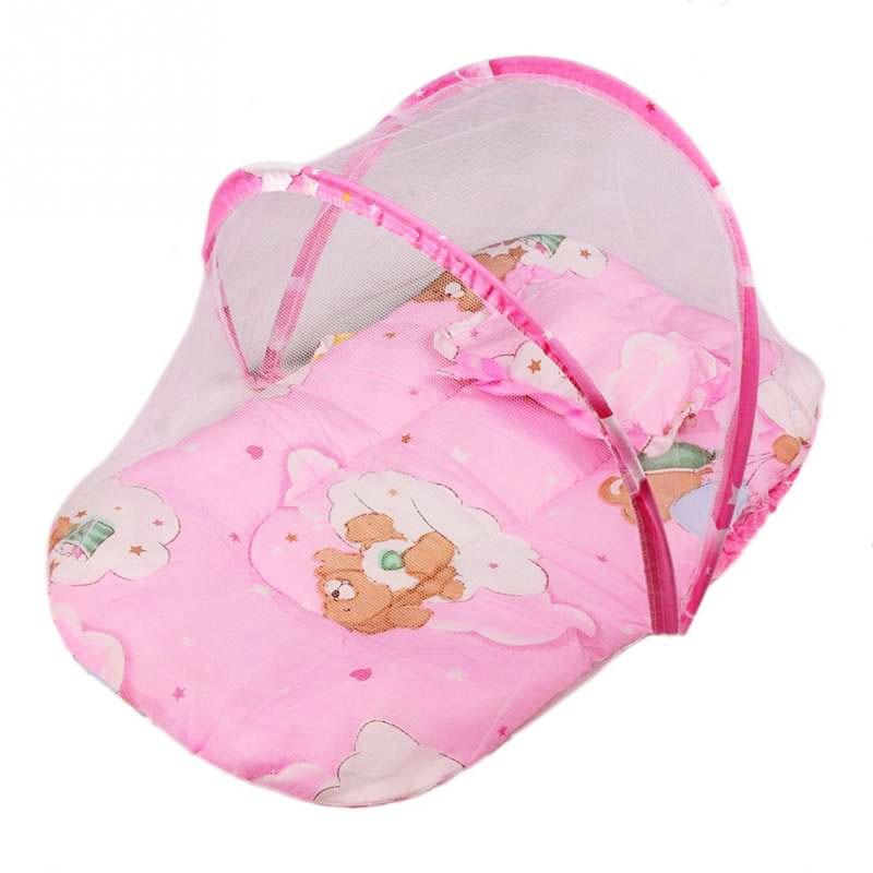 детская кровать москитная сетка