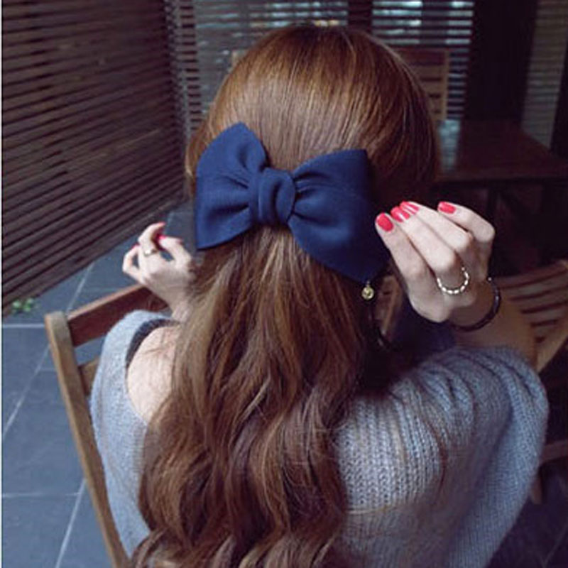 Hair Accessories for Women Hair Ornaments Flower Hair Clip Fashion Cute Hairpins Gig Bow Hairclips for Girls Headwear Bowknots women headwear 2017 retro hair claw cute hair clip for girls show room vitnage hair accessories for women