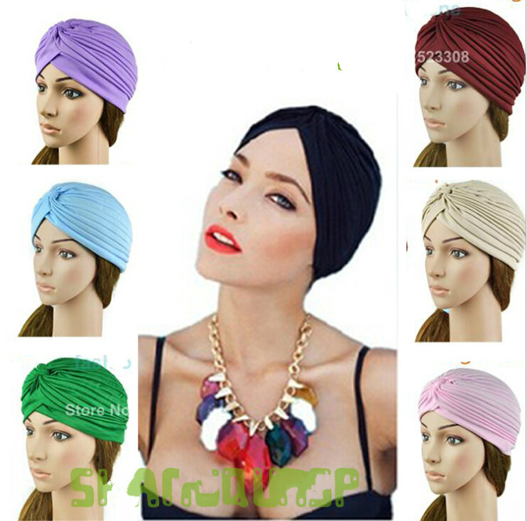 les plus récents divers styles section spéciale №Unisexe inde caps femmes Turban chapeau Skullies bonnets ...