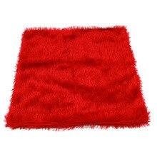 Мягкие Плюшевые Чехлы для подушек из искусственного меха, Декоративные Чехлы для подушек для дивана, автомобиля, стула, отеля, наволочки, чехол