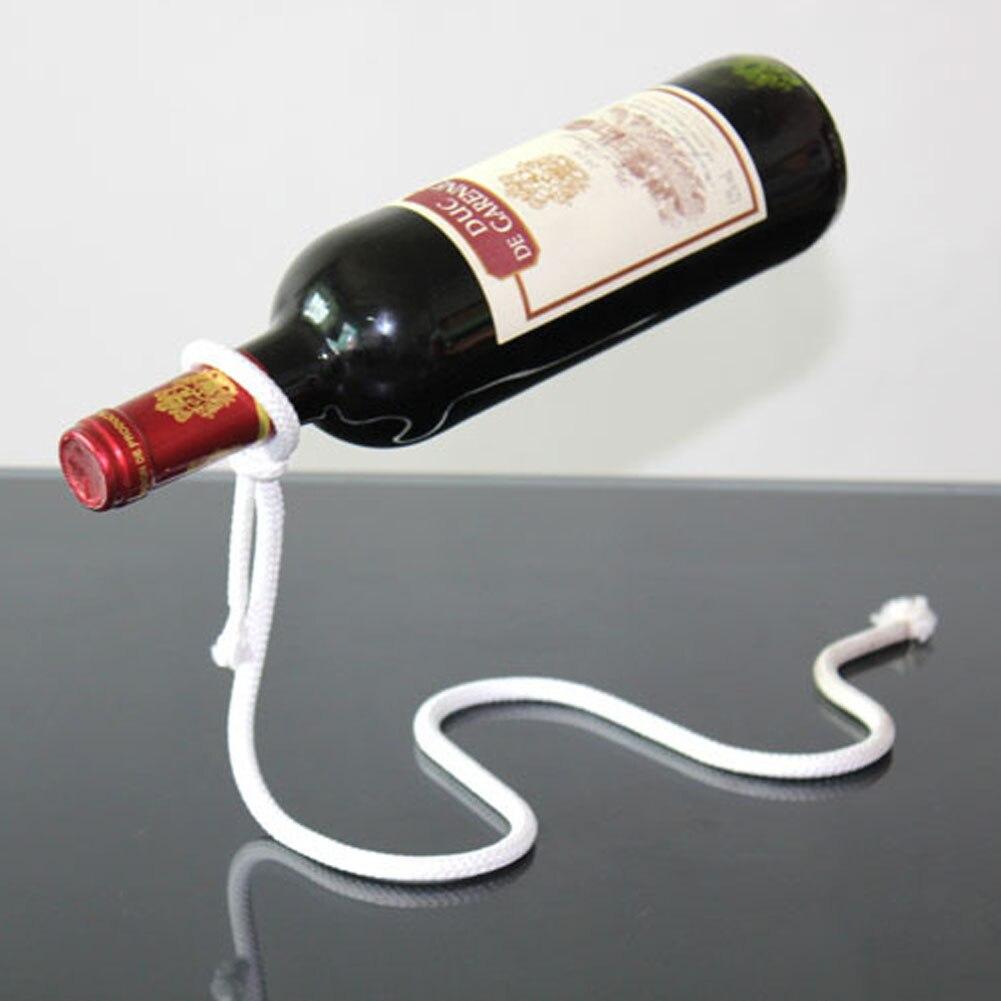 Tabletop Metal Red Wine Rack Shelf
