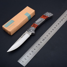 New Carving Knifes Cool Collection Engraving Knives Fold Pocket Knife EDC Tools Tiger Draw Gift For Men