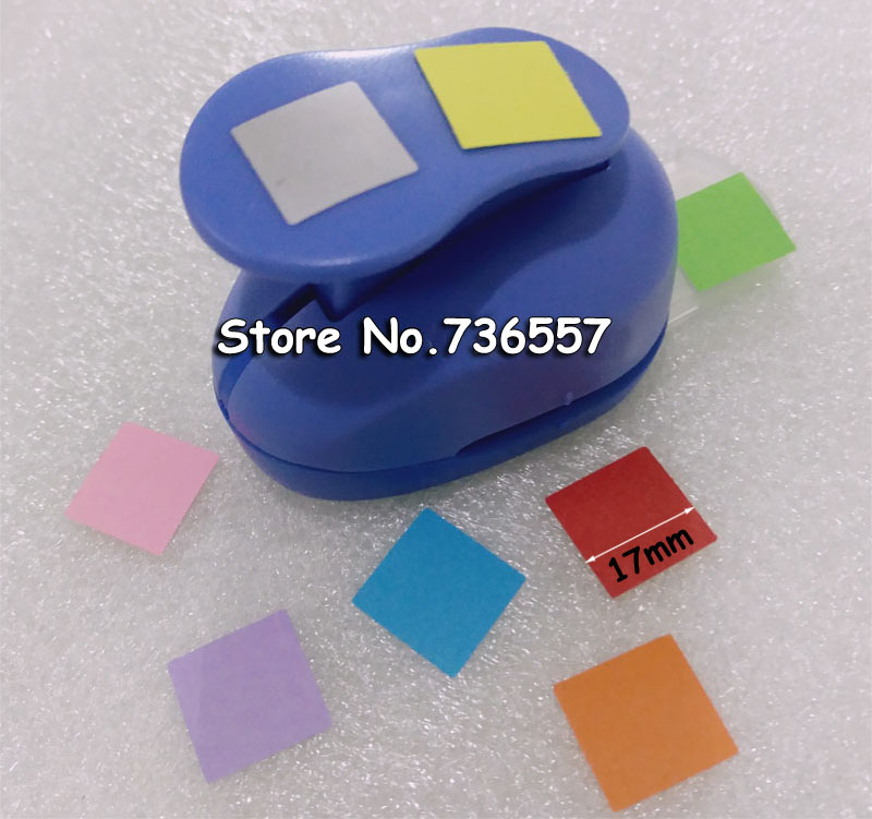 1 Inch Square Shape Craft Punch/hole Puncher Embossing Device Scrapbook Handmade Punchers DIY Free Shipping