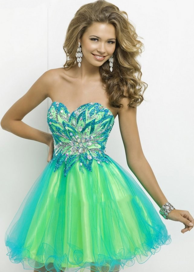 Online Get Cheap Turquoise Homecoming Dresses -Aliexpress.com ...