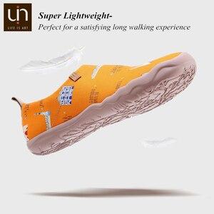Image 4 - UIN Art zapatos informales pintados para hombre, zapatillas de lona, transpirables, de viaje