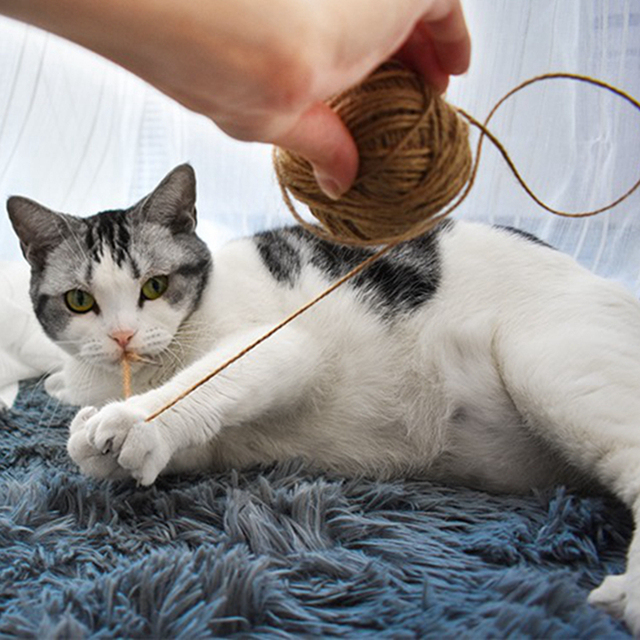 30m Sisal Rope For Cats Scratching Post Toys Making Diy Desk Foot