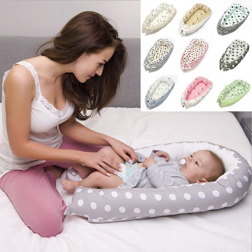 Bébé nid lit berceau Portable amovible lavable berceau bébé lit voyage lit pour enfants infantile enfants coton berceau porter berceau berceaux