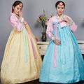 4 Color Fashion Korean Traditional Dress Women Hanbok Korean Dress Ancient Clothes Luxury Korean Hanbok