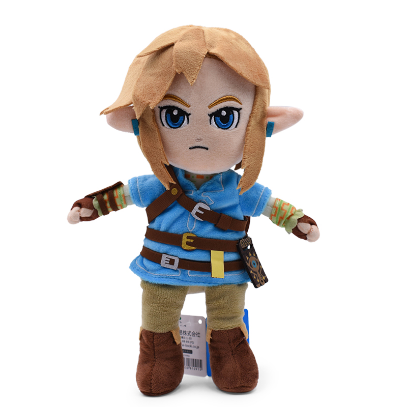 New Arrival Anime The Legend of Zelda Link Doll Plush Soft Stuffed Baby Toy Great Christmas Gift For Children