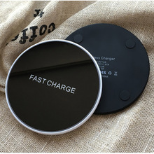 10W Qi Wireless Charger for iPhone X/XS Max XR 8 Plus Visible Element Fast Charging pad Samsung S8 S9/S9+ Huawei