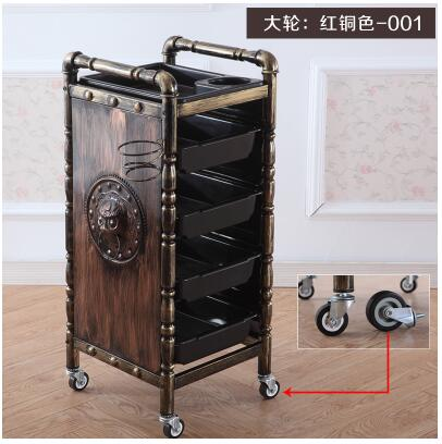 Beauty Salon Dedicated Stroller Household Beauty Salon Stroller Three Beauty Stroller With Brake Grain.