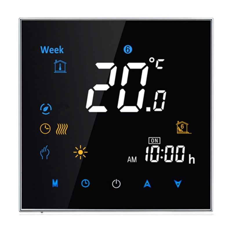 95 ~ 240VAC Quatre Tuyau Numérique Hebdomadaire Programmable Ventilo-convecteur Contrôleur Central Air Conditionné Thermostat D'ambiance sans Wifi