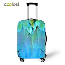 Candy Feather Cartoon 3d Print Luggage Protective Covers Suitcase Covers Lady Dust Protection Covers For Trolley Luggage Girls(China)
