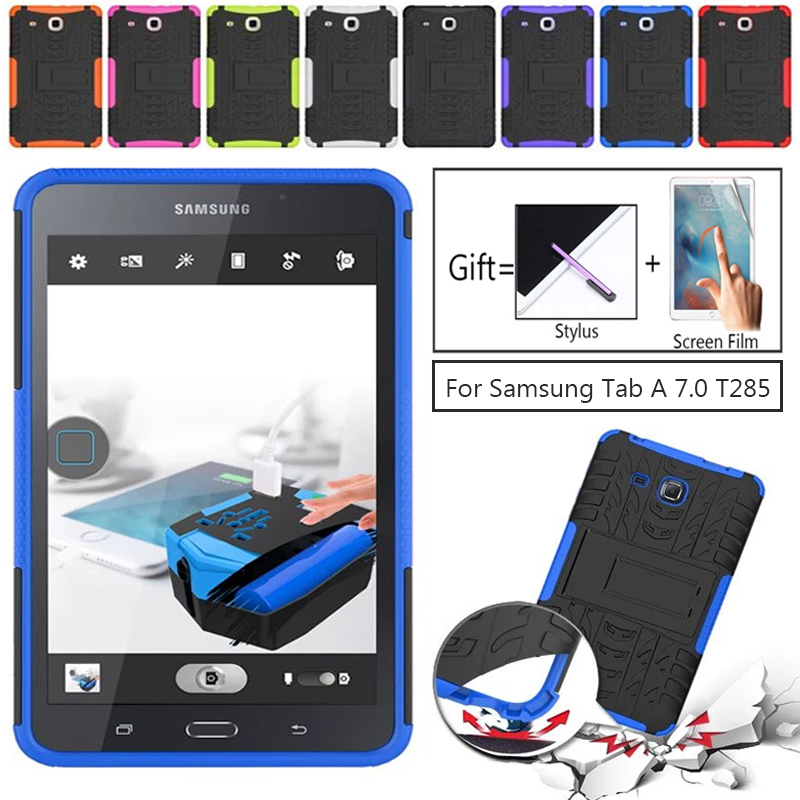 New Armor For Samsung Tab A A6 T280 Case TPU+PC Shockproof Cover For Samsung Galaxy Tab A A6 7.0 T280 T285 SM-T280 Case Cover