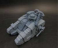 1/18 Scale Resin Figure Model Kit Assault Tank Static Modelling Assemble DIY Toys Hobby Tools B78