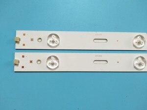 Image 3 - 428mm LED arka lamba şerit 5leds Samsung 40 inç TV 40 LB M520 40VLE4421BF 2013ARC40 40VLE6520BL 2013HI400 LED40K30JD