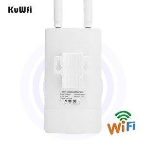 Image 4 - Amplificatore Wi Fi per interni ad ampia Area con estensione del ripetitore WiFi ad alta potenza da 2.4GHz 300Mbps con antenne omnidirezionali a 360 gradi