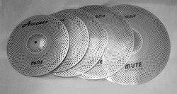 Arborea Mute cymbal set 14 '' Hihat +16 '' Crash +18 '' Crash + 20 '' Ride