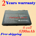 JIGU Аккумулятор Для Ноутбука ASUS 90-NVD1B1000Y A32-F52 A32-F82 L0690L6 L0A2016 F82 K40 K50 K51 K60 K61 K70 P81 X5A X5E X70 X8A