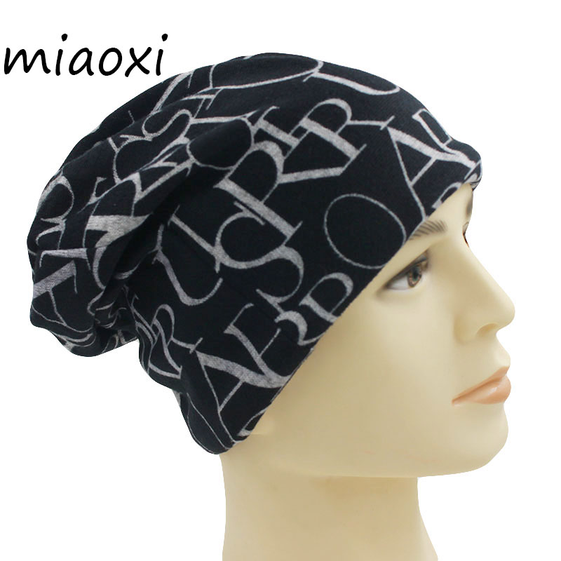 miaoxi New Fashion Women Warm Autumn Caps For Girl 2 Used For Knitted Scarf Female Letter Beanies Gorro Hat Adult Solid Touca female caps for autumn