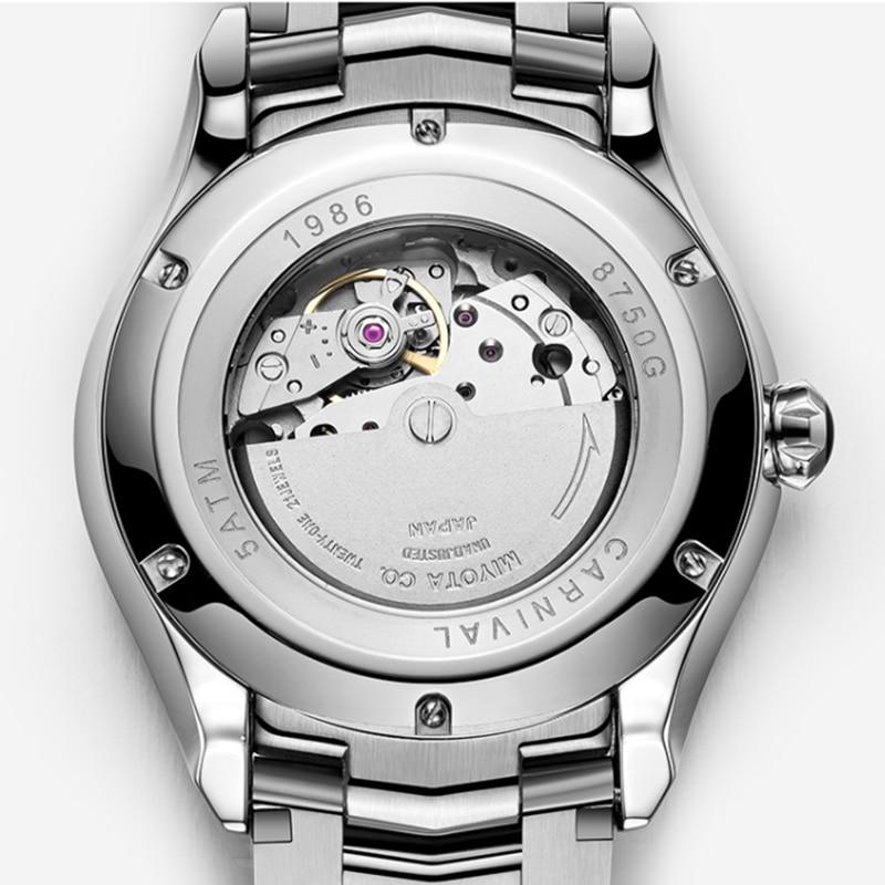 3-Спортивные карнавал Автоматическая техника модные мужские часы дайвинг спорт водонепроницаемые светящиеся часы сталь сапфир тренд часы смотреть на Алиэкспресс Иркутск в рублях