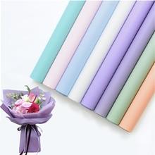 FLOD водонепроницаемая упаковочная бумага для подарков с цветами матовая упаковка букета для цветов 0,6*10 м