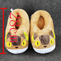 28cm Anime My Neighbor Totoro Cat Bus Plush Slippers Shoes Warm Winter Adult Slipper Great Gift free shipping