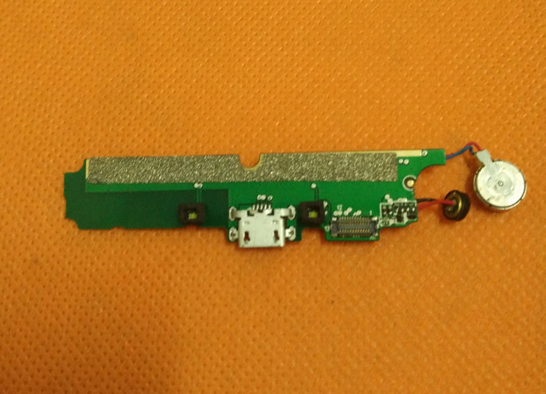 Used Original USB Plug Charge Board Microphone For Ulefone Power MTK6753 Octa Core 5 5 inch