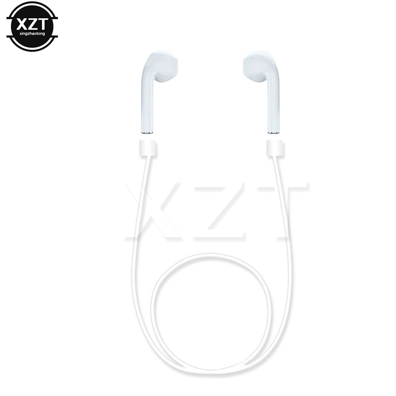 Anti Lost Silicone Earphone Strap Loop Cable Cord String