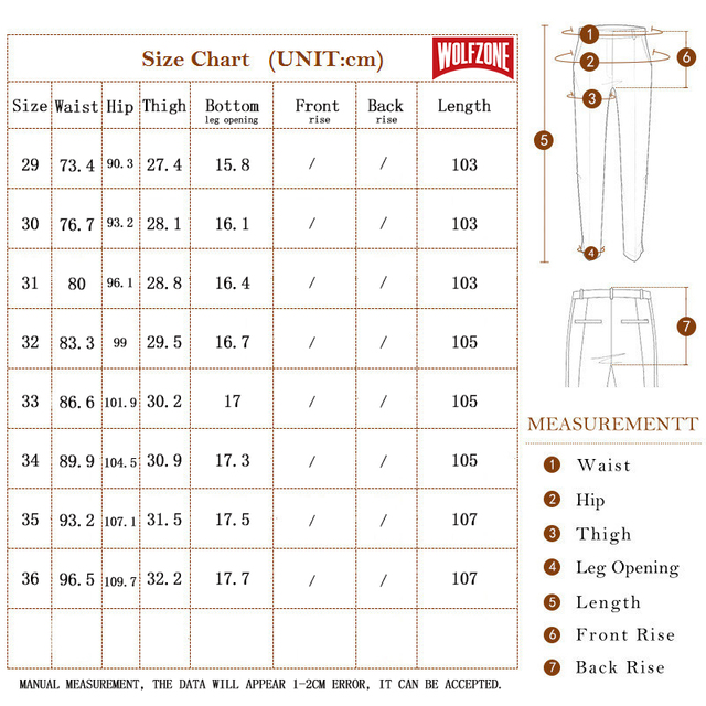 High Quality Men's Long, Classic, Business / Casual Trousers
