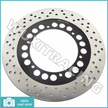 BIKINGBOY Rear Brake Disc Rotor for YAMAHA FJR 1300 A ABS 01-13 XV 1700 Road Star Warrior Midnight 01 02 03 04 05 06 07 08 09(China)