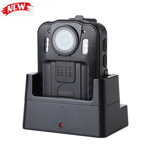Boblov WN9 Body Worn Camera 1080P 64GB DVR Video Security Cam 170 Degree IR Night Vision Mini Camcorders Lahore
